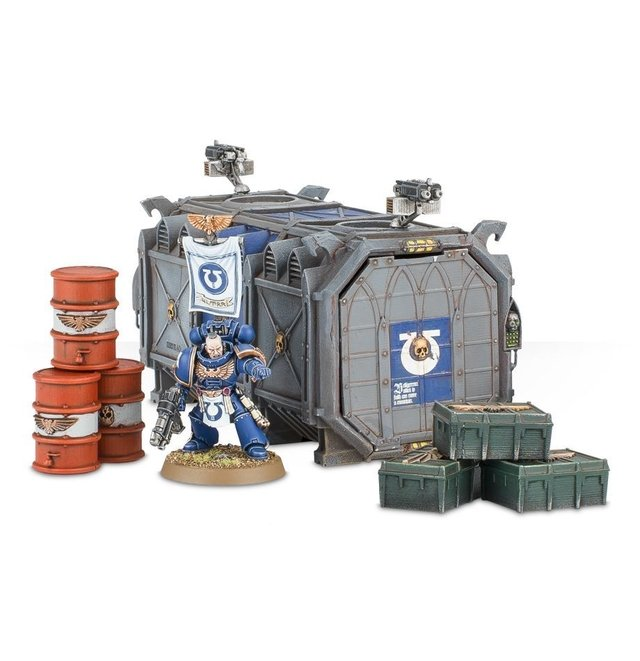 Munitorum Armoured Containers - 40k na internet