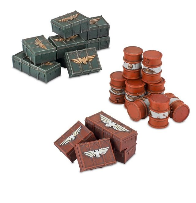 Munitorum Armoured Containers - 40k - loja online