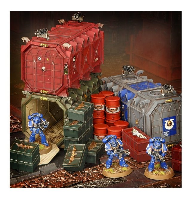 Imagem do Munitorum Armoured Containers - 40k