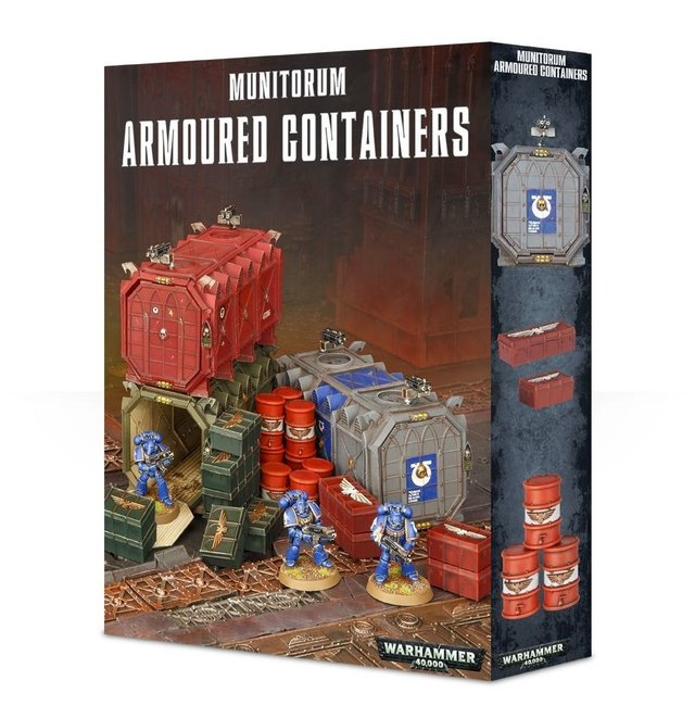 Munitorum Armoured Containers - 40k