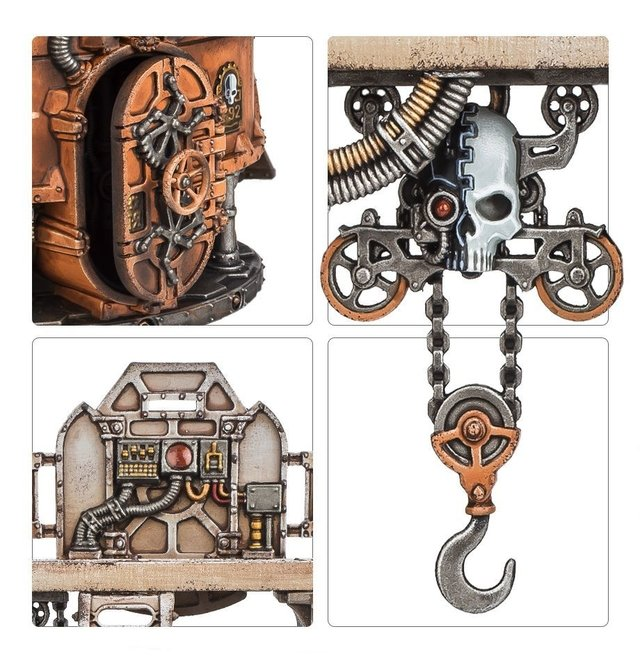Sector Mechanicus Ferratonic Incinerator - 40K - loja online