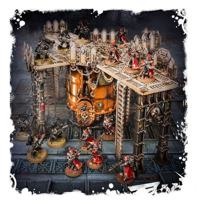 Sector Mechanicus Ferratonic Incinerator - 40K