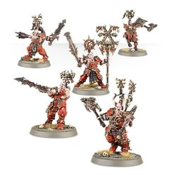 Khorne Bloodbound Frenzied Wartribe - Age of Sigmar - Pittas Board Games