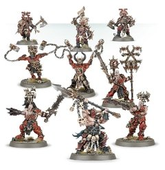 Imagem do Khorne Bloodbound Frenzied Wartribe - Age of Sigmar