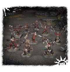 Khorne Bloodbound Frenzied Wartribe - Age of Sigmar