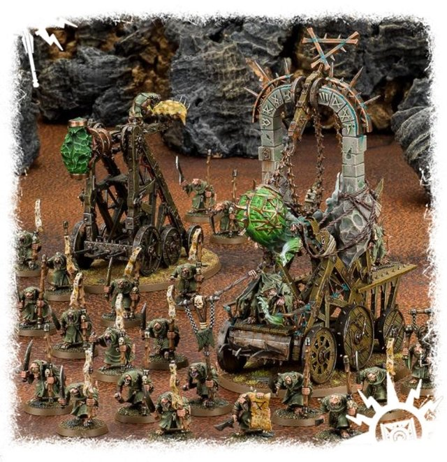 Imagem do Start Collecting! Skaven Pestilens - Age of Sigmar