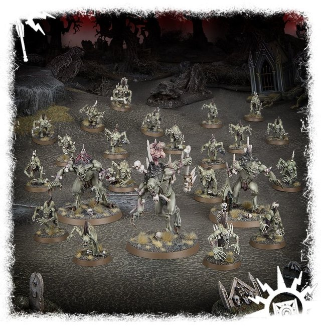 Flesh-Eater Courts Nightfeast Hunters - Age of Sigmar - loja online