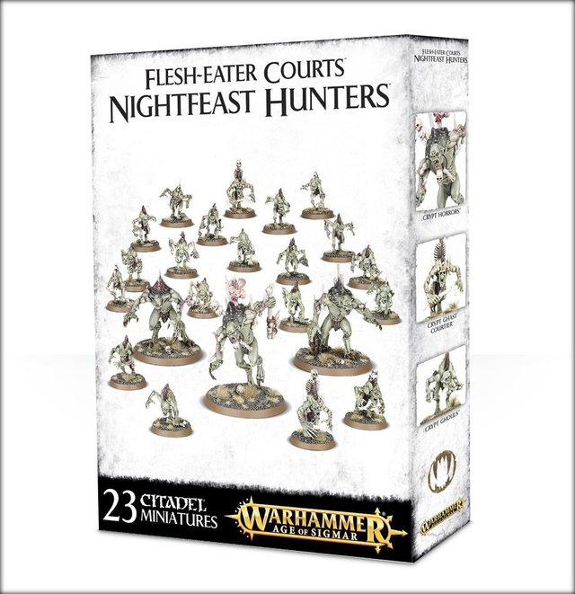 Flesh-Eater Courts Nightfeast Hunters - Age of Sigmar