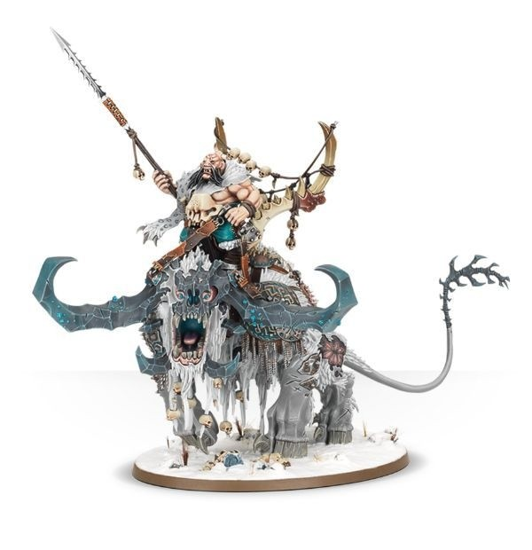 WARHAMMER AGE OF SIGMAR START COLLECTING! Frostlord on Stonehorn - comprar online