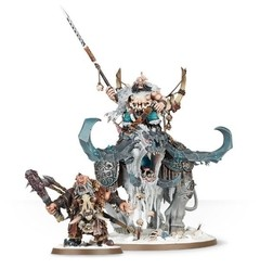 WARHAMMER AGE OF SIGMAR START COLLECTING! Frostlord on Stonehorn - Pittas Board Games