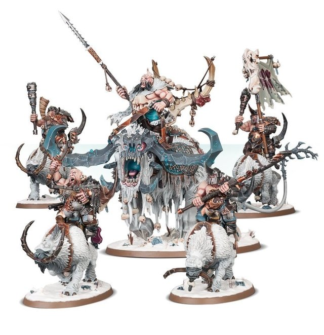 Start Collecting! Beastclaw Raiders - Age of Sigmar - loja online