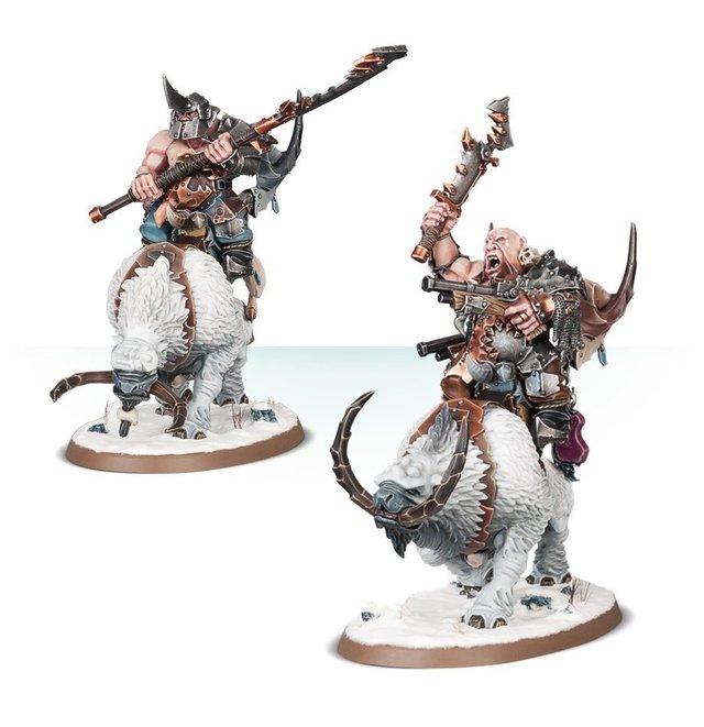 Start Collecting! Beastclaw Raiders - Age of Sigmar na internet
