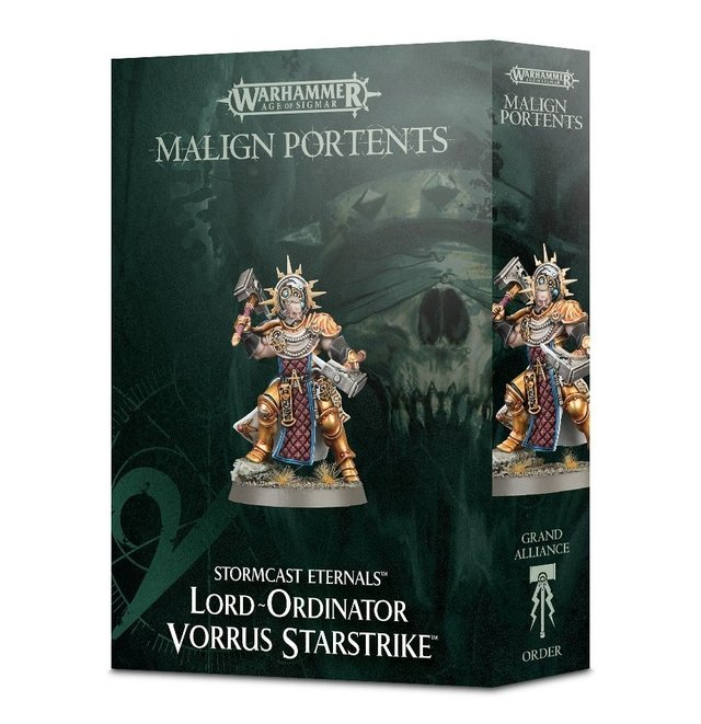 Lord-Ordinator Vorrus Starstrike - Age of Sigmar