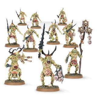 WARHAMMER AGE OF SIGMAR START COLLECTING! DAEMONS OF NURGLE - comprar online