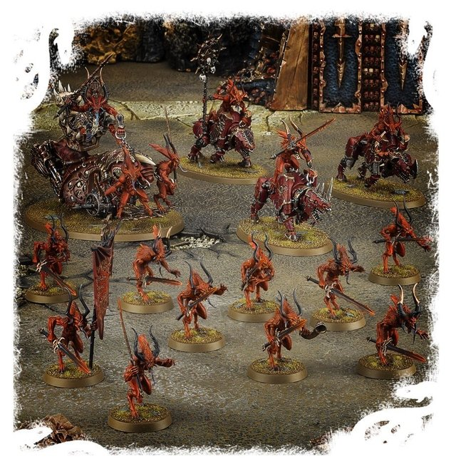 Imagem do Start Collecting! Daemons of Khorne - Age of Sigmar