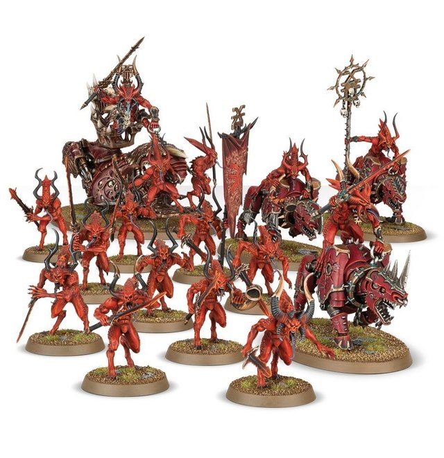 Start Collecting! Daemons of Khorne - Age of Sigmar - loja online