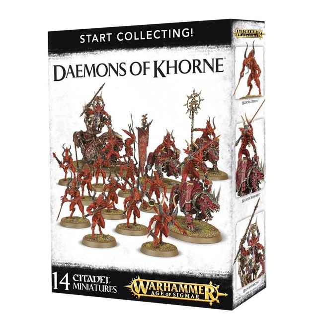 Start Collecting! Daemons of Khorne - Age of Sigmar