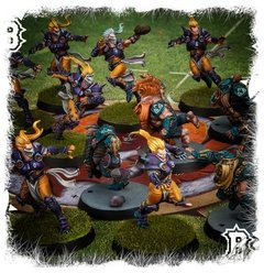 Blood Bowl - Elven Union Pitch
