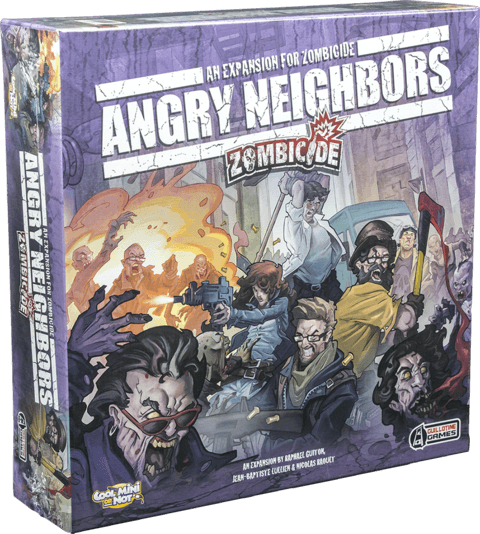 ANDGRY NEIGHBORS - EXPANSÃO ZOMBICIDE