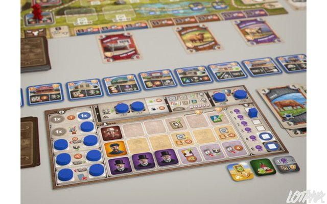 GREAT WESTERN TRAIL - Pittas Board Games