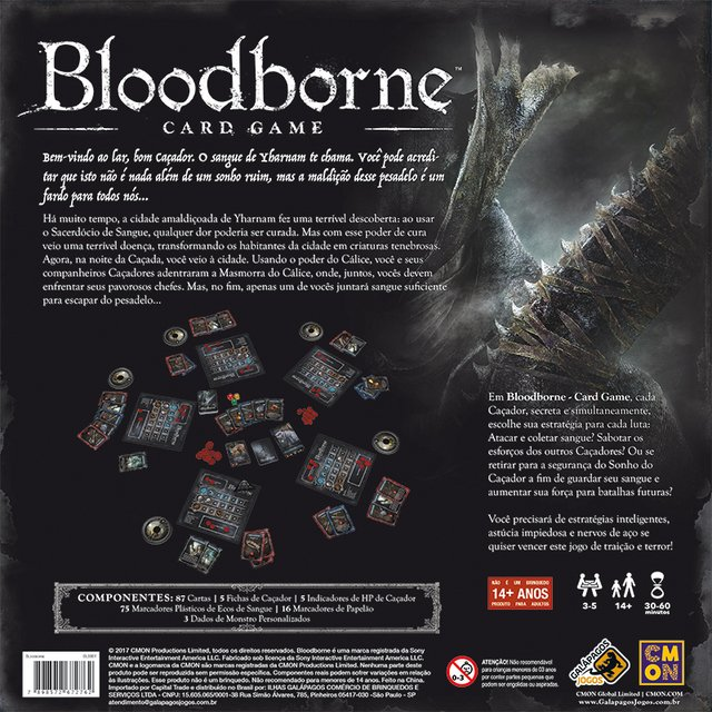 BLOODBORNE: CARD GAME - comprar online