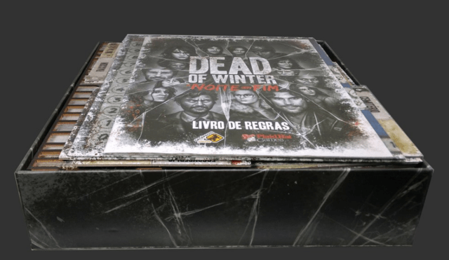 Organizador (Insert) para Dead of Winter - A Noite Sem fim - Pittas Board Games