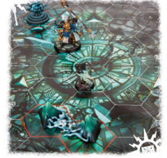 Warhammer Underworlds: Nightvault Arcane Hazards na internet
