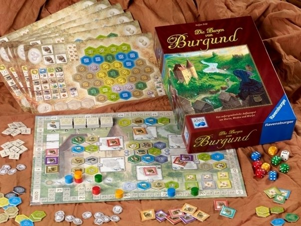 The Castles of Burgundy na internet