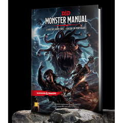 DUNGEONS & DRAGONS - MONSTER MANUAL - LIVRO DOS MONSTROS
