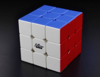 3X3X3 FELLOW CUBE - COLOR (cubo magico profissonal)