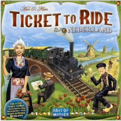 Expansão Ticket To Ride - Nederland / Holanda (Importado)