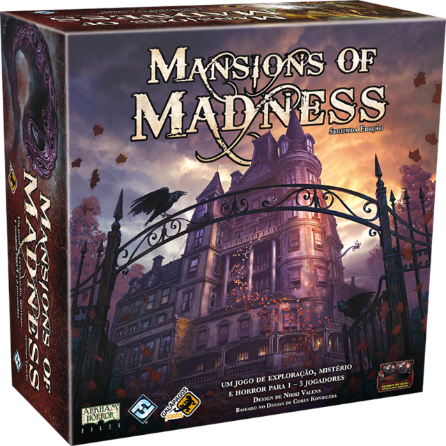 Combo Mansion of Madness - Base + expansões - comprar online