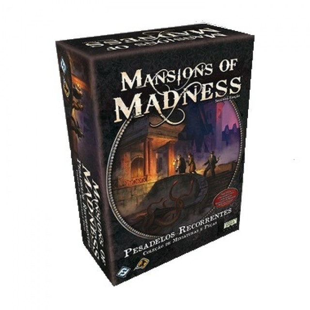 MANSIONS OF MADNESS + EXPANSÕES + SLEEVES na internet