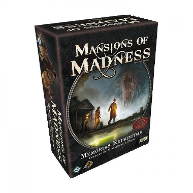 MANSIONS OF MADNESS + EXPANSÕES + SLEEVES - Pittas Board Games
