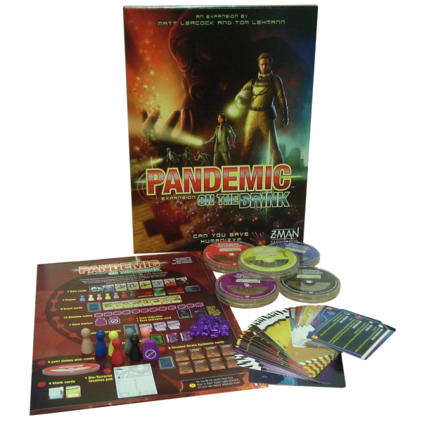 PANDEMIC - NO LIMITE EXPANSÃO - Pittas Board Games