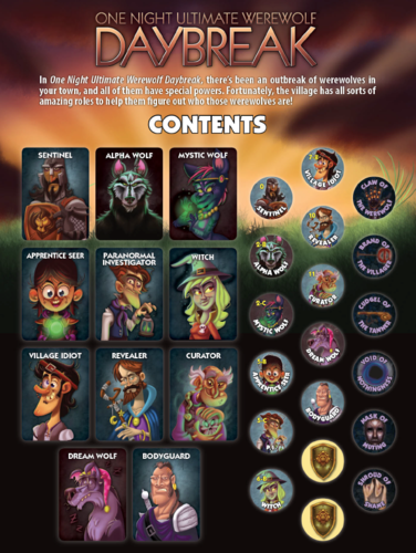 One Night Ultimate Werewolf Daybreak - comprar online