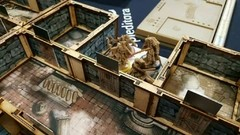 Kit Paredes 3D para Zombicide Black Plague