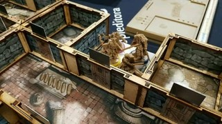 Kit Paredes 3D para Zombicide Black Plague - comprar online