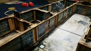 Kit Paredes 3D para Zombicide Black Plague na internet