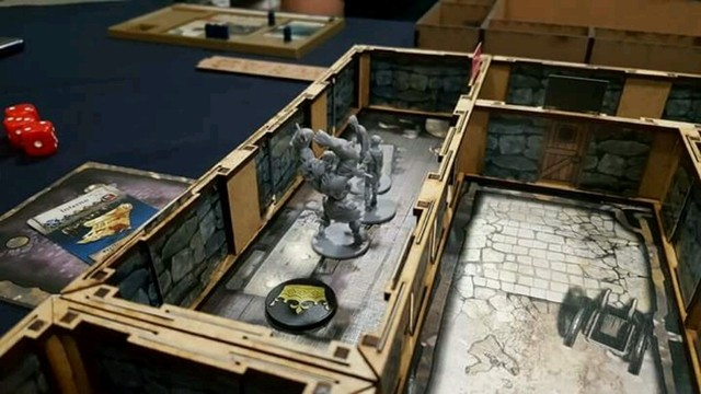 Kit Paredes 3D para Zombicide Black Plague - Pittas Board Games