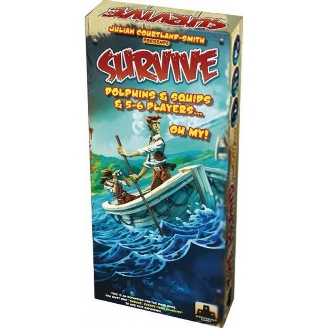 SURVIVE: DOLPHINS & SQUIDS & 5-6 PLAYERS…OH MY!