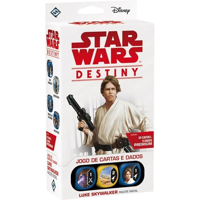 STAR WARS DESTINY: PACOTE INICIAL LUKE SKYWALKER
