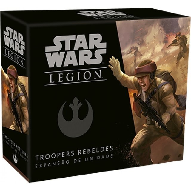 STAR WARS: LEGION - TROOPERS REBELDES - EXPANSÃO DE UNIDADE