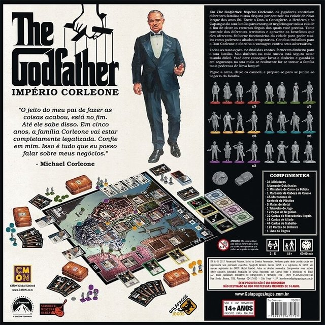 THE GODFATHER: IMPÉRIO DE CORLEON - comprar online
