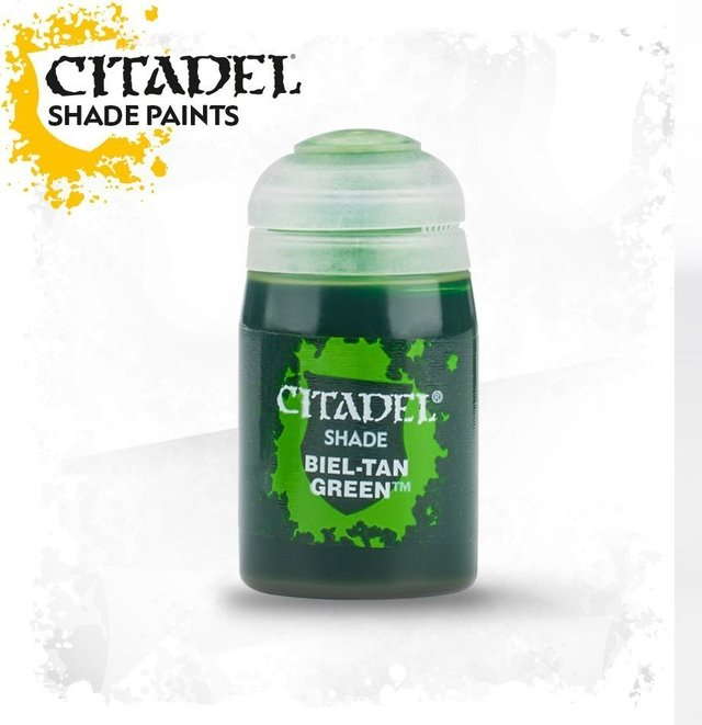 TINTA OFICIAL BIEL-TAN GREEN (24ML)
