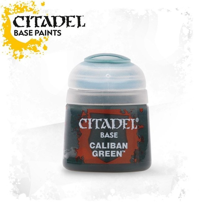TINTA OFICIAL CALIBAN GREEN