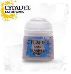 TINTA OFICIAL LAYER:   SLAANESH GREY (12ML)