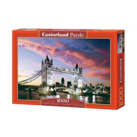 Tower Bridge, London, England Puzzle 1000 Peças