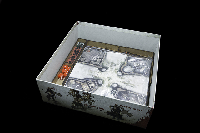 Organizador (Insert) para Zombicide Black Plague - Pittas Board Games