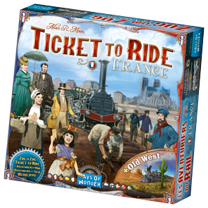 Expansão Jogo Ticket To Ride - France (Importado)